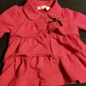 Toddler girls pink dressy jacket